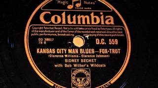 "Sidney Bechet - ""Kansas City Man Blues"" - Fox Trot"