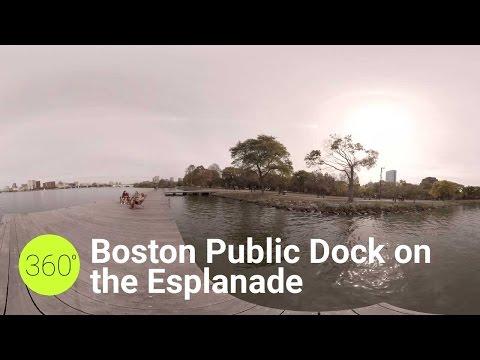 Boston Public Dock on the Esplanade