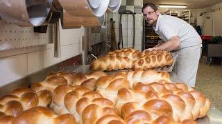 Nachtschicht für frisches Brot