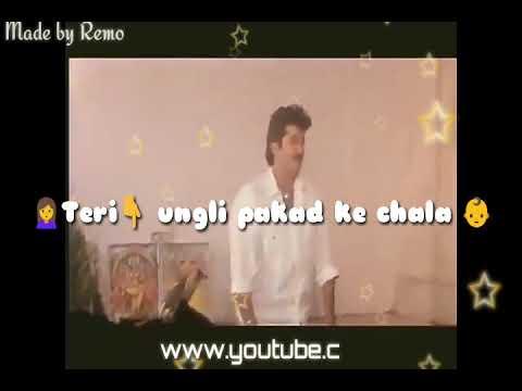 Teri ungli pakad ke chala   Mother's love   WhatsApp status  song   