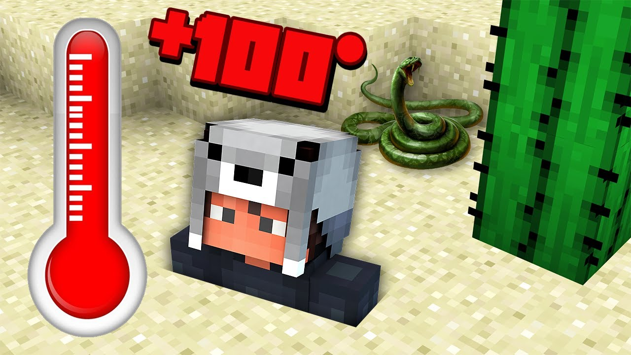 Download ISSIZ ÇÖLDE HAYATTA KALMAK 😱 - Minecraft