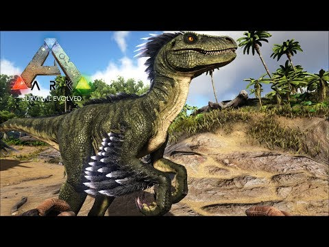 Приручил Раптора - Ark Survival Evolved #9