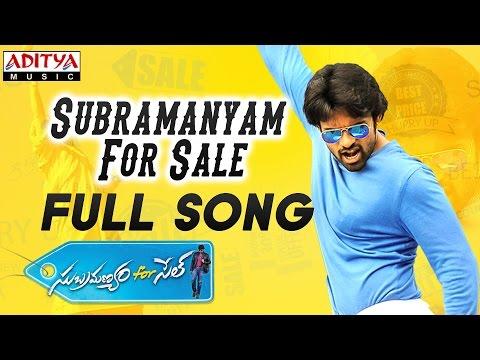 Subramanyam For Sale Title Full Song || Subramanyam For Sale Songs || Sai Dharam Tej, Regina