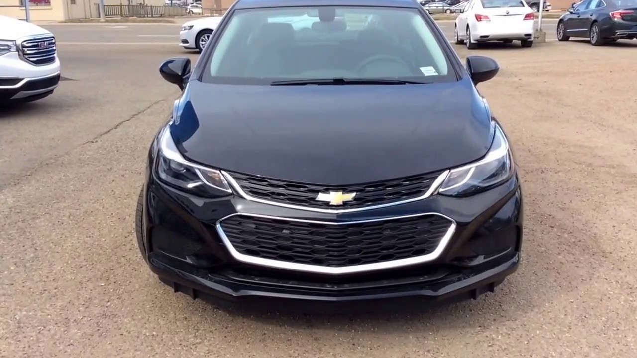 2017 Chevrolet Cruze Lt Turbo Sel With Convenience Technology And Sunroof Packages