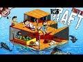 EXPAND THE RAFT! | Surviving Shark Week! (RAFT Multiplayer)