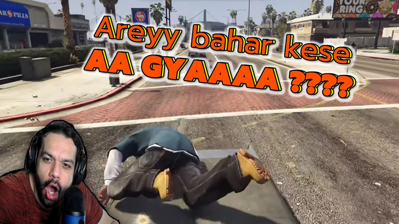 Chalti Car se kaun Jump Karta hai | GTA 5 Highlights #1