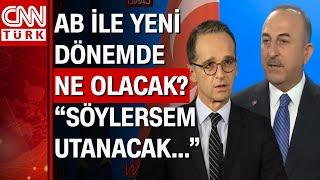 Bakan Mevlüt Çavuşoğlu Almanya'da açıkladı: AB protokol krizinin perde arkası!