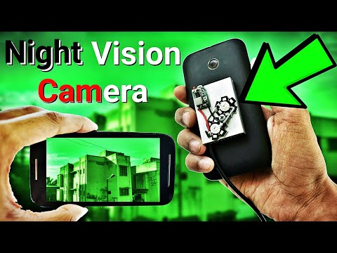 How To Make Infrared Night Vision Camera From Any Smartphone !