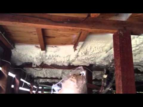 Subfloor spray foaming with icynene youtube subfloor spray foaming with icynene solutioingenieria Image collections