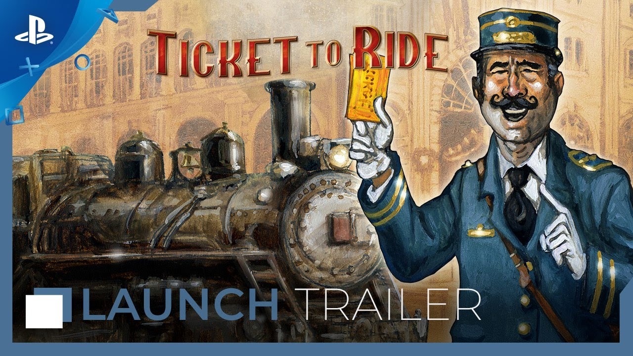 Ticket to Ride - Launch Trailer | PS4