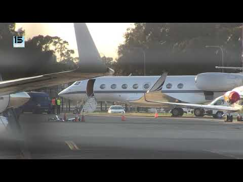 'Hollywood actress Natalie Portman arrives Sydney on Gulfstream to film THOR' –   15MOF