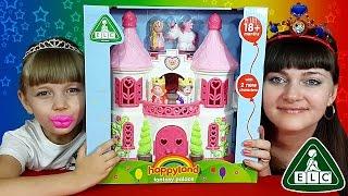 ♚ ПРИНЦЕССА И ЕДИНОРОГ! Большой королевский замок для девочек (ELC) Сказочный обзор =)