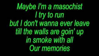 Eminem - Love The Way You Lie Part 2 Lyrics On Screen