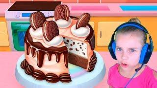 Моя кондитерская империя Готовь десерты по сладким рецептам Игра для девочек
