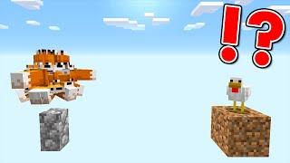 Minecraft: 100 Foxes vs Chicken