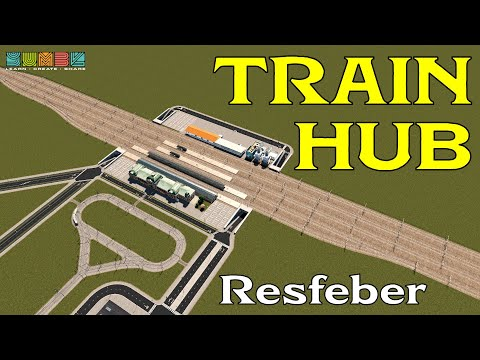 Moving our Cims (and cargo) by Rail - Resfeber05