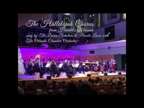 The Hallelujah Chorus  from Handel's Messiah at The National Concert Hall, Dublin