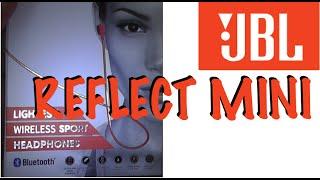 JBL Reflect Mini BT - Unboxing and Setup