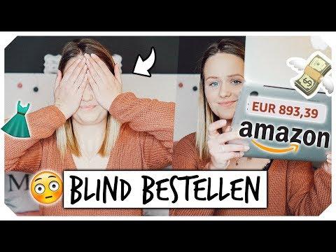 BLIND BESTELLEN auf AMAZON😵👕 Klamotten für ~ 1000€😱 | Mone