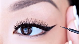 How Apply Liquid Eyeliner Beginners