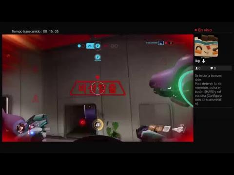 Transmisión de PS4 Overwatch