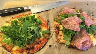 GÖR EN TORTILLA PIZZA | Supergod och jättelätt att laga hemma!