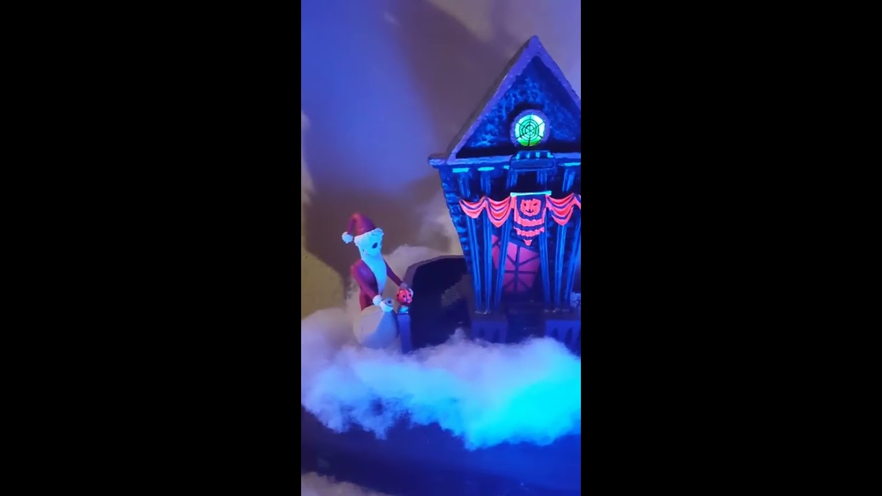 Branford Exchange The Nightmare Before Christmas Village with ...