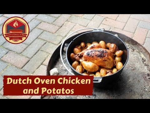 Dutch Oven Chicken And Potatoes - Andy´s Grill & BBQ Rezept Video - Folge 45