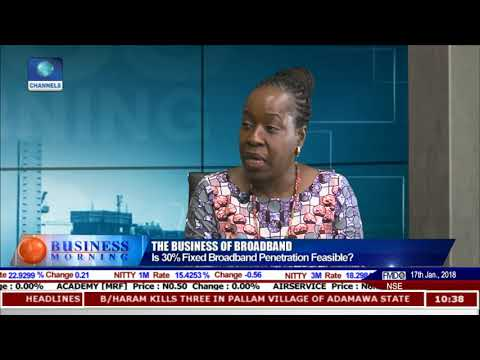 Broadband, Technology & The Future Of Nigerian Economy Pt.1 |Business Morning|