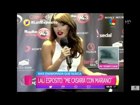 Lali Espósito dio su opinión sobre las fotos hot de Ivana Nadal y abrió la puerta al casamiento