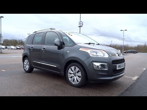 2015 Citroën C3 Picasso 1.6 BlueHDi 100 Exclusive Start-Up and Full Vehicle Tour