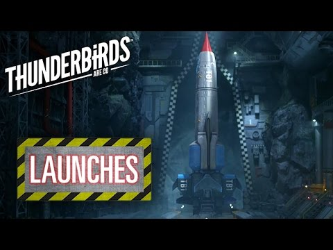 Thunderbird 1 Launch Sequence | Thunderbirds Are Go Clip