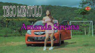 Amanda Savana - Tego Mentolo   Dj Santuy [OFFICIAL]