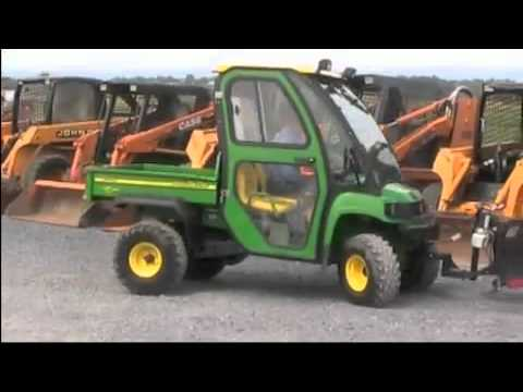 john deere gator hpx 4x4 cab plow youtube. Black Bedroom Furniture Sets. Home Design Ideas