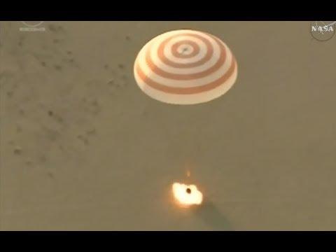 Soyuz MS-04 - Return to Earth