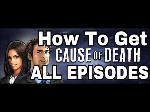 "How To Get ALL EPISODES Of The ""Cause Of Death IOS Game"" (2018-2019)🐾"