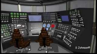 3D tour of Rocky Jones SilverMoon * Scifisteve