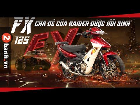 FX 125 Cha đẻ của Raider được hồi sinh | 2banh Review