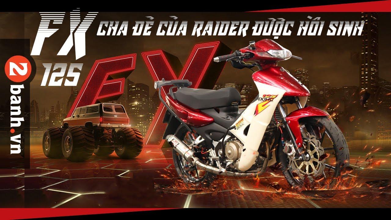 FX 125 Cha đẻ của Raider được hồi sinh   2banh Review