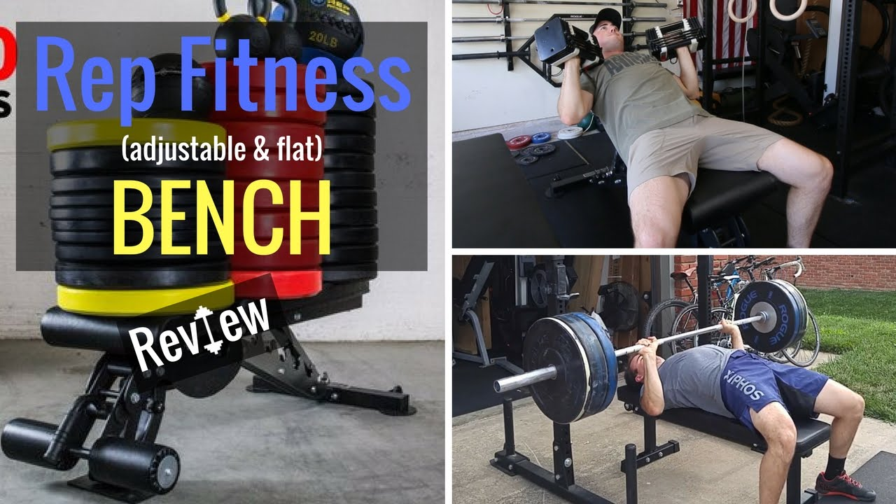 Rep fitness adjustable flat bench review youtube