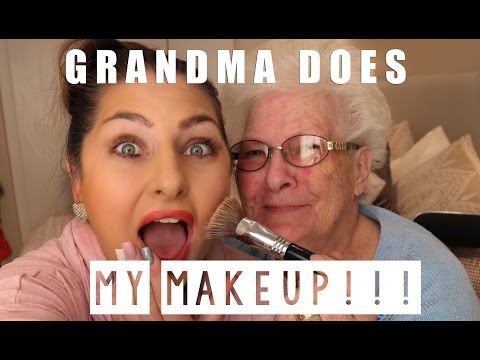 Grandma does my makeup  - Makeup tutorial from South Africa