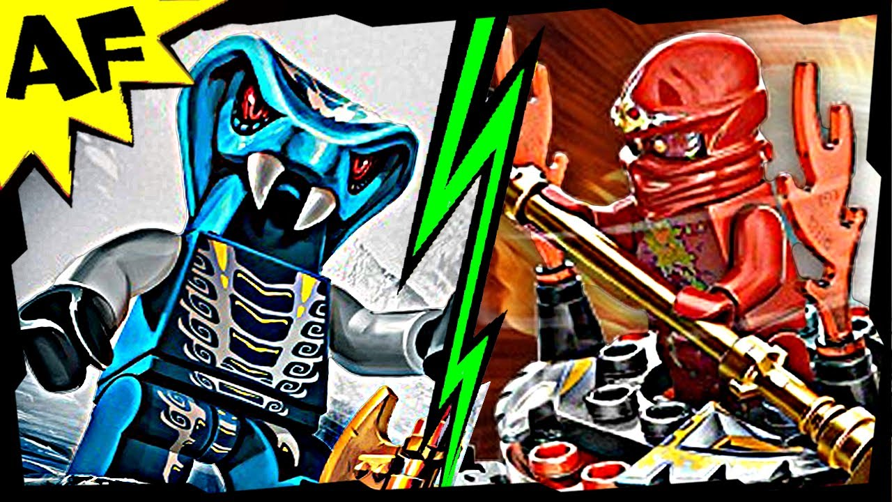 Nrg kai vs mezmo lego ninjago spinjitzu battle stop motion set review 9555 9591 youtube - Ninjago vs ninjago ...