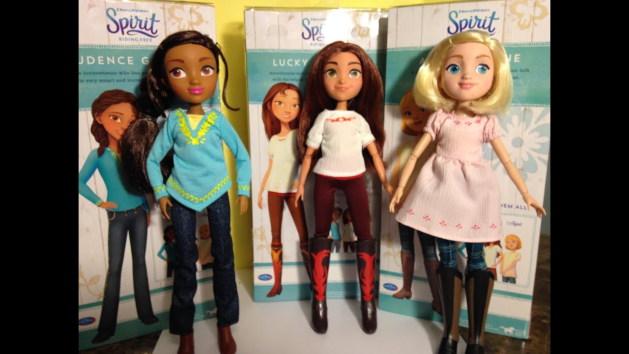 Spirit Riding Free Deluxe Doll Review!