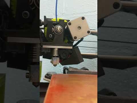 Lulzbot Mini printing issues @ Glenwood Primary School