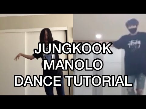 [MIRRORED DANCE TUTORIAL] JK Manolo Tutorial+Dance Cover (choreography by Keone Madrid)