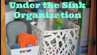 HOME ORGANIZATION: UNDER THE SINK! Thumbnail