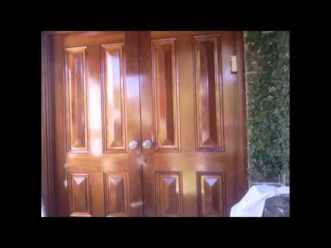 How To Sand And Stain Old Doors