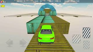Impossible Car Stunt Race / 3D Mobil Car Racing Game / Android Gameplay