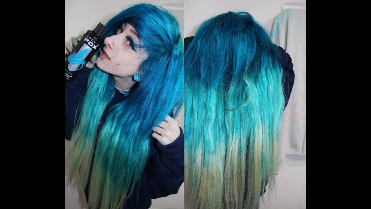 Blue Ombre With Arctic Fox Youtube