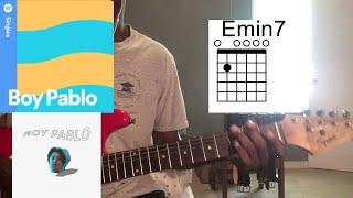 Boy Pablo - Ready / Problems Guitar Tutorial